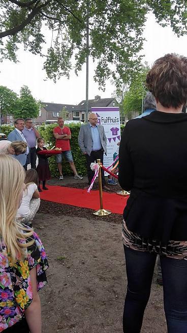 Wethouder Lindeman opent het fitnesspark